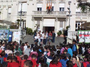 juego en la calle Huesca