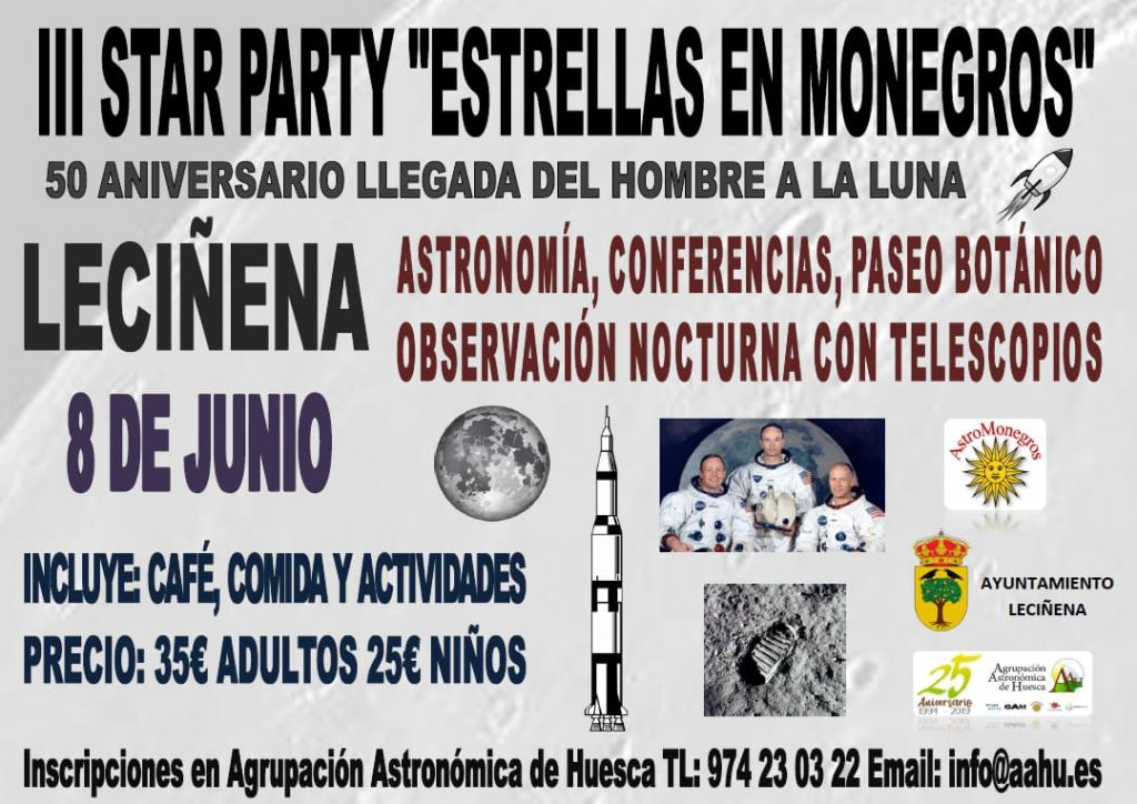 Cartel Star Party Leciñena
