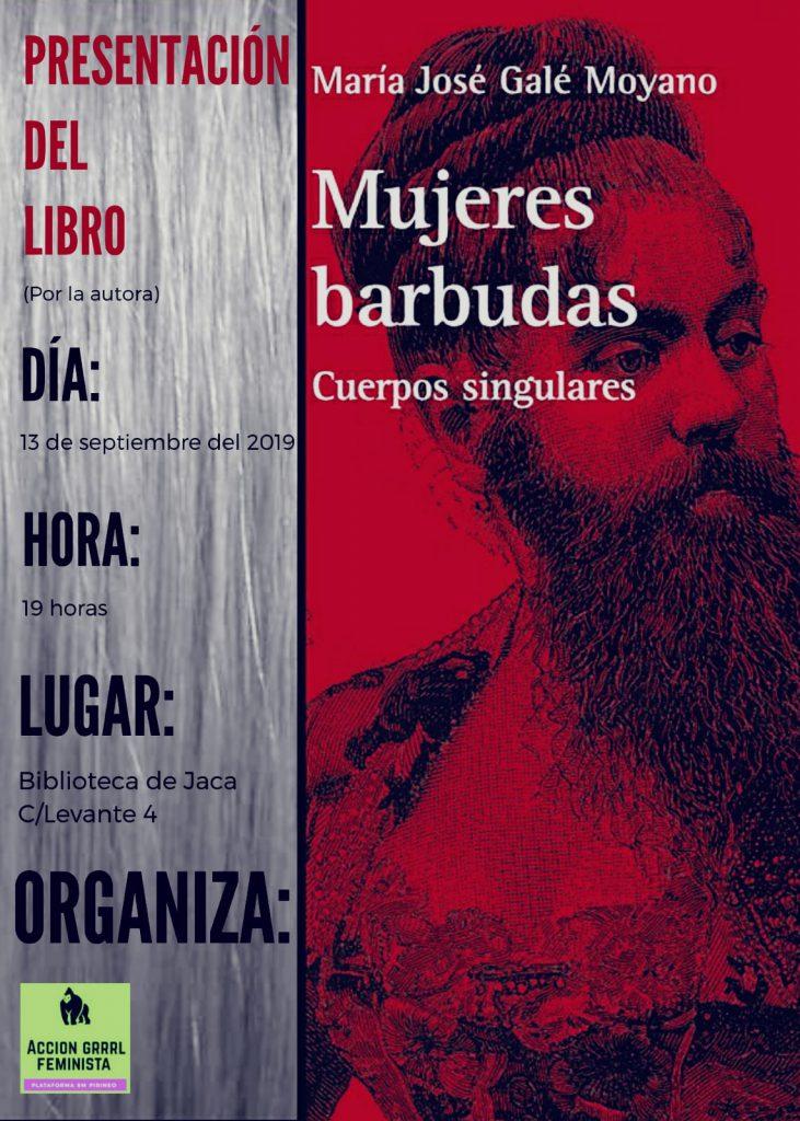 Presentacion libro Mujeres barbudas